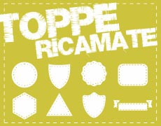 TOPPE RICAMATE