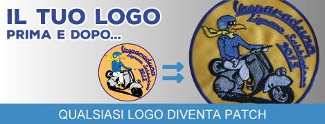Qualsiasi logo diventa patch